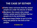 the case of esther2