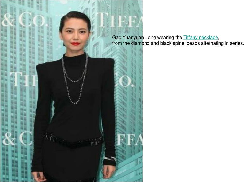 Gao Yuanyuan Long wearing the