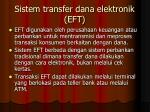 sistem transfer dana elektronik eft