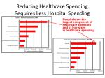 reducing healthcare spending requires less hospital spending
