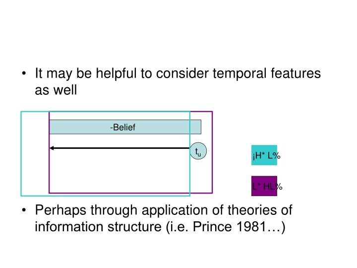 It may be helpful to consider temporal features as well