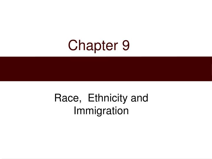 lauer__ch 08__race ethnic groups and racism One of the primary objectives of racial and ethnic groups in america, by juan l gonzales, jr, is to provide an academic background for understanding the history, culture, and social relationships that constitute the day-to-day life in ethnic communities juan gonzales believes that education can.