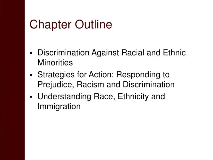 essay on discrimination against race