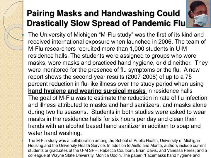 Pairing Masks and