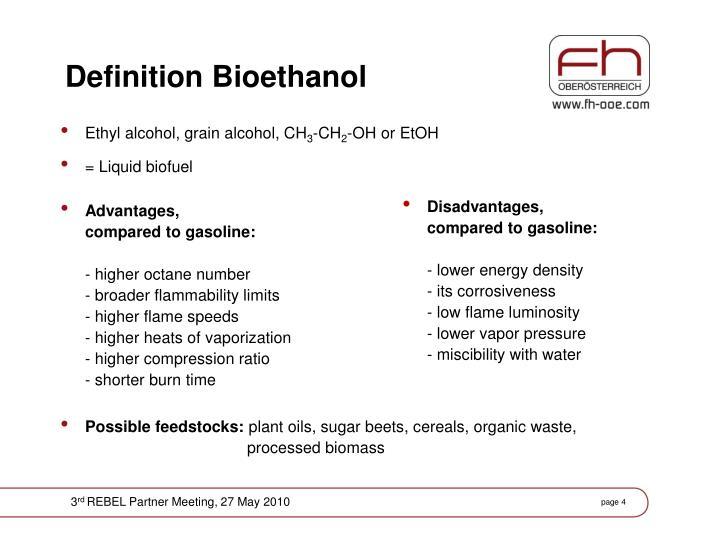 bioethanol definition
