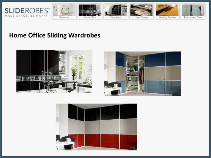 Home Office Sliding Wardrobes