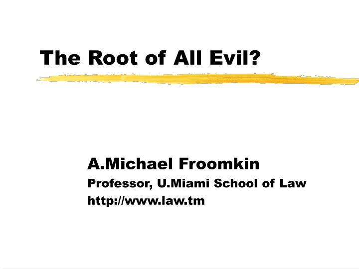 an analysis of the science and money as the root of all evil in humanity Subscribe today and receive online access to the christian science journal, sentinel, and herald including digital editions of the print periodicals, web original articles, blogs, and podcasts, over 30,000 minutes of sentinel radio and audio chats, searchable archive going back to 1883.
