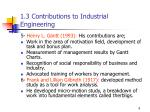 1 3 contributions to industrial engineering2