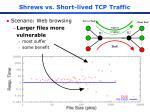 shrews vs short lived tcp traffic1