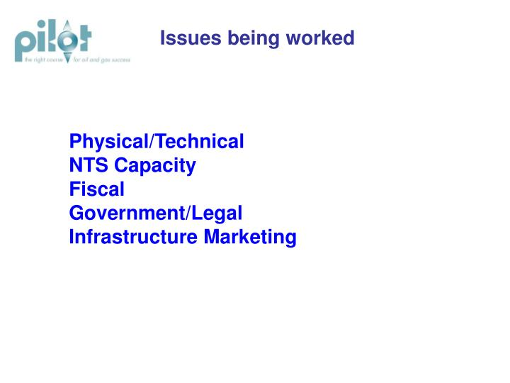 Physical technical nts capacity fiscal government legal infrastructure marketing