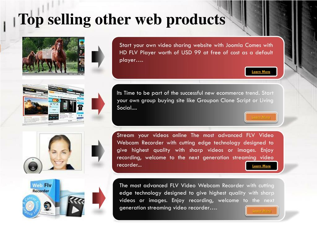 Top selling other web products