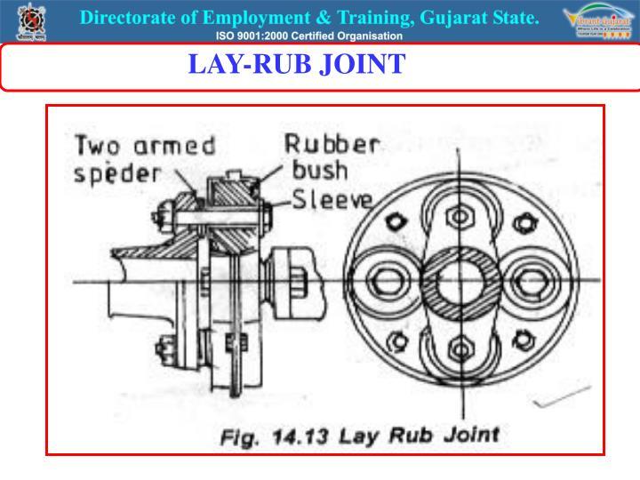 LAY-RUB JOINT