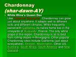 chardonnay shar dawn ay