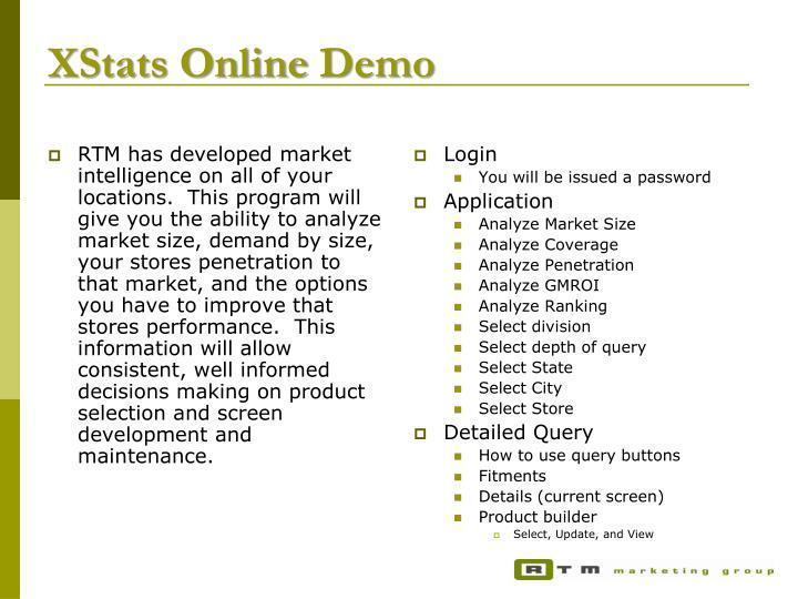 XStats Online