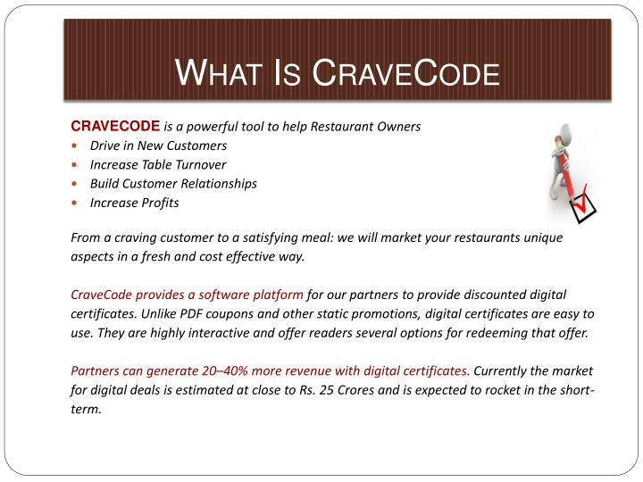 What is cravecode