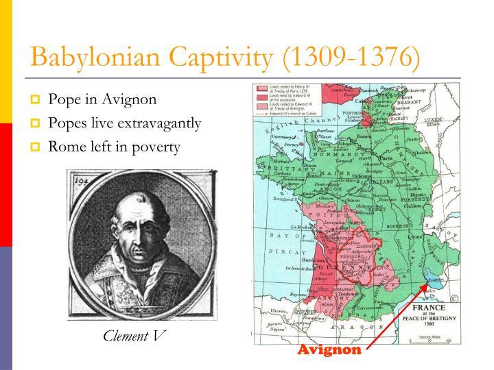 Pope in Avignon