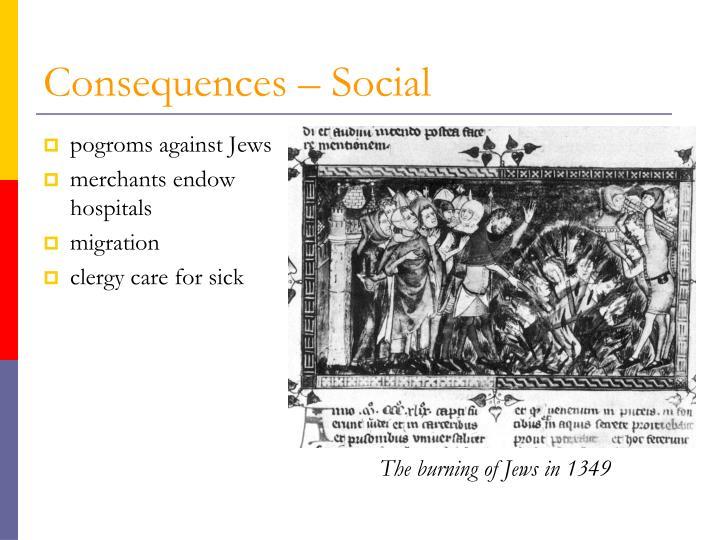 Consequences – Social