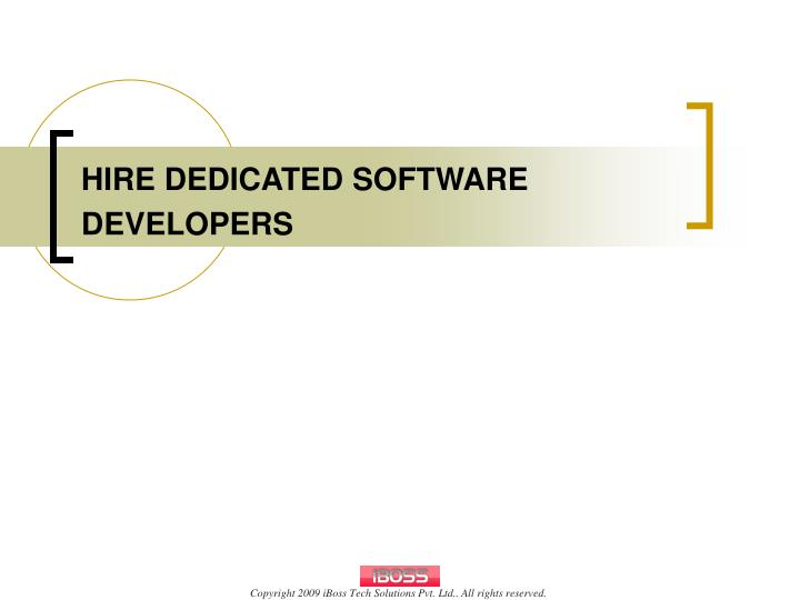 hire dedicated software developers n.