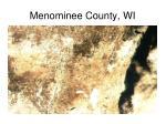menominee county wi