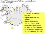 kvasir the association of lifelong learning centres outside the capital