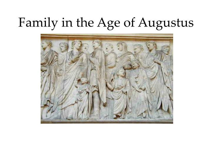 a description of the age of augustus A copy below of the deeds of the divine augustus without any inscription of my name i rebuilt aqueducts in many places that had decayed with age.