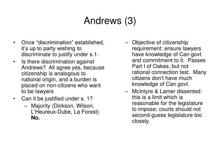 Andrews 3