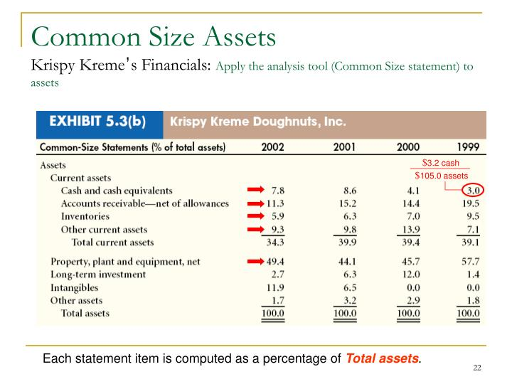 Common Size Assets