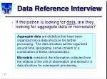 data reference interview11