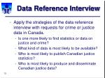 data reference interview13