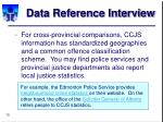 data reference interview15