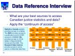 data reference interview16