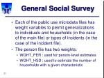 general social survey31
