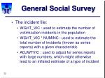 general social survey32