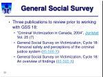 general social survey33