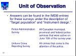unit of observation20