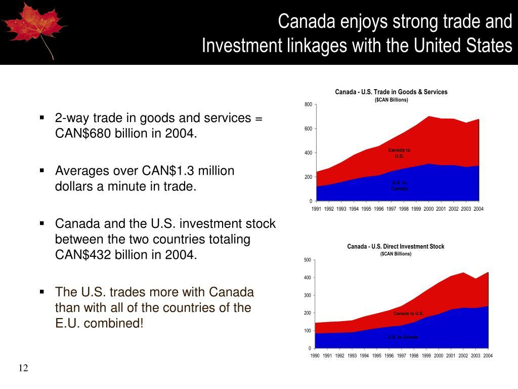 Canada enjoys strong trade and