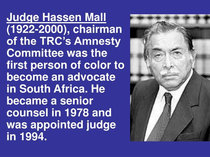 Judge Hassen Mall