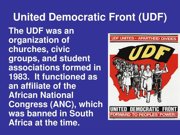United Democratic Front (UDF)