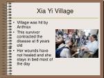 xia yi village
