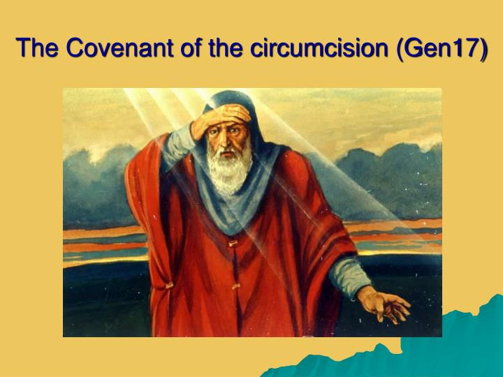 the covenant of the circumcision gen17 n.