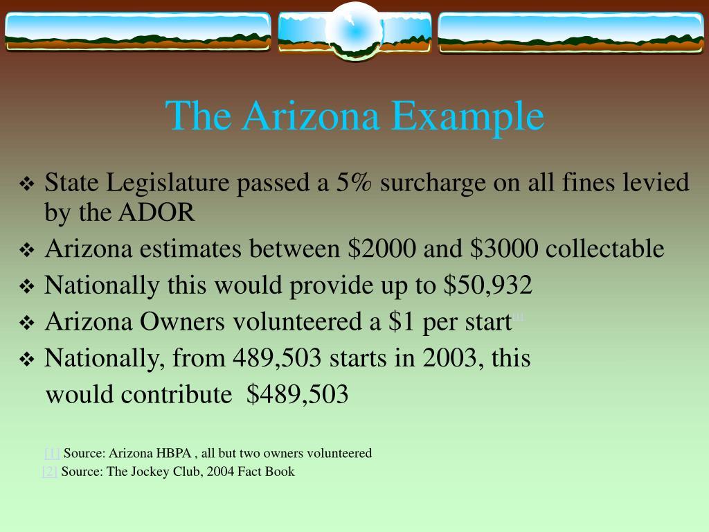 The Arizona Example