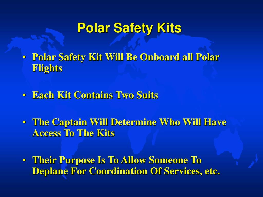 Polar Safety Kits