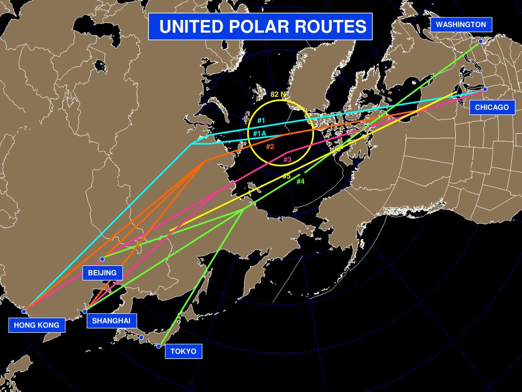 UNITED POLAR ROUTES
