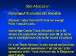 slot allocation