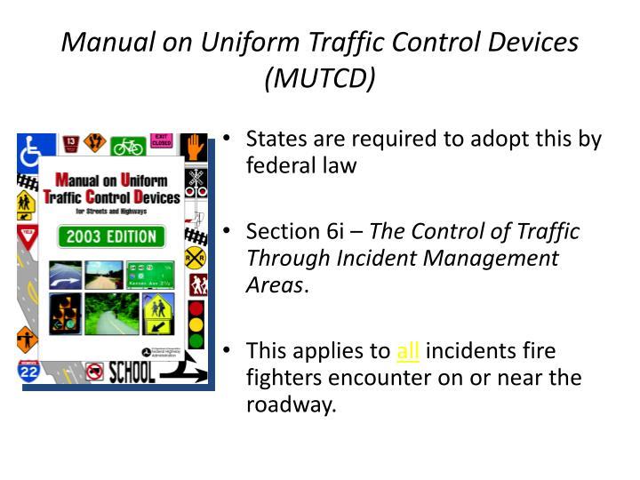 Texas manual uniform traffic control devices