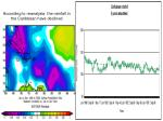 according to reanalysis the rainfall in the caribbean have declined