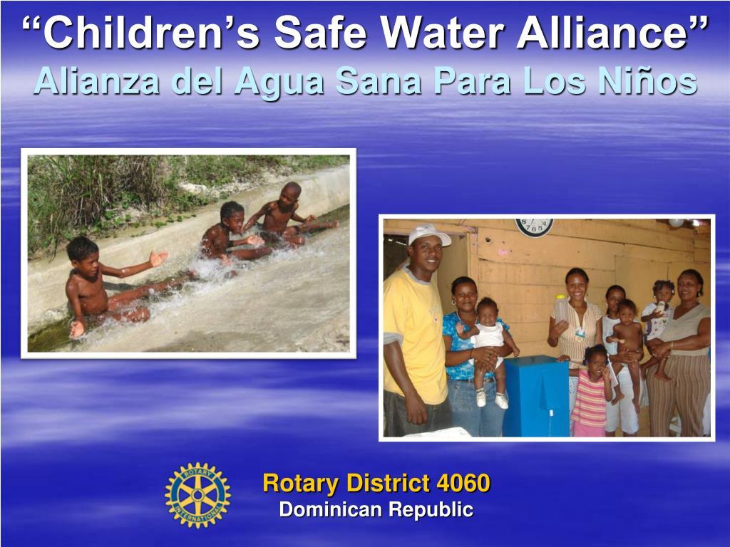 """""""Children's Safe Water Alliance"""""""