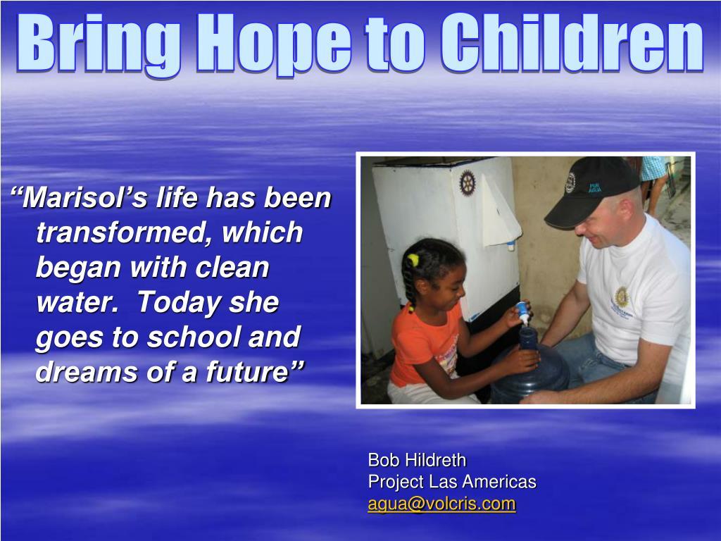 Bring Hope to Children