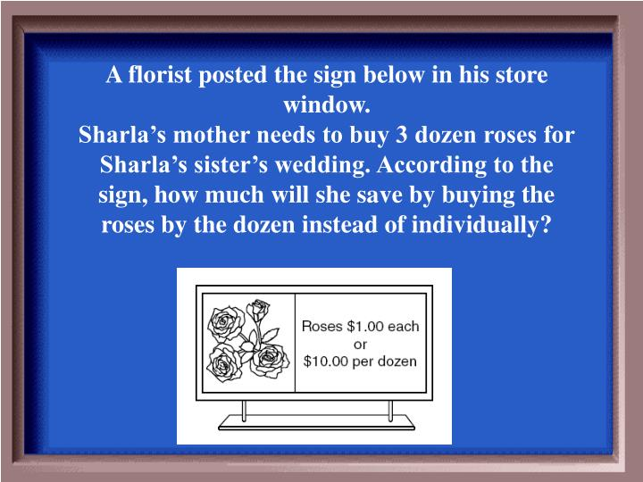 A florist posted the sign below in his store