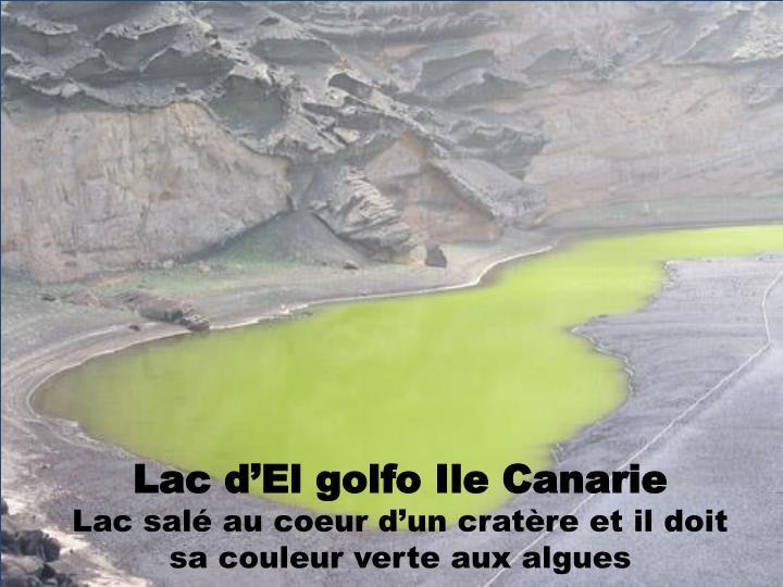Lac d'El